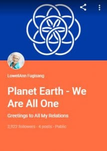 G+ Collection - Planet Earth - We Are All One