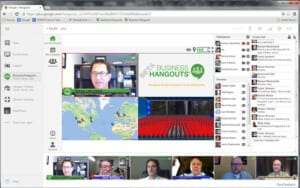 Business Hangouts Dashboard