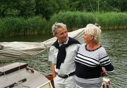How To Build A Retirement Career- sometimes involves favourite aactivities like sailing.